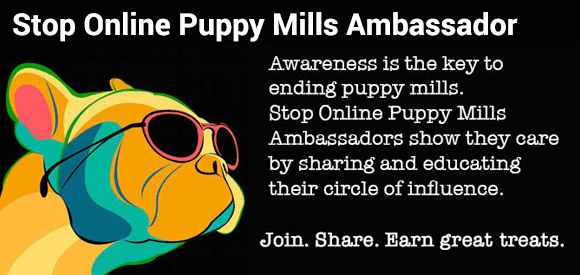 Be a Stop Online Puppy Mills Ambassador