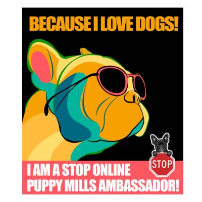 Stop Online Puppy Mills Sticker